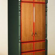 ШКАФ гардероб зеленый Modernist