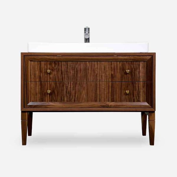tumba pod rakovinu WALNUT BATHROOM 2